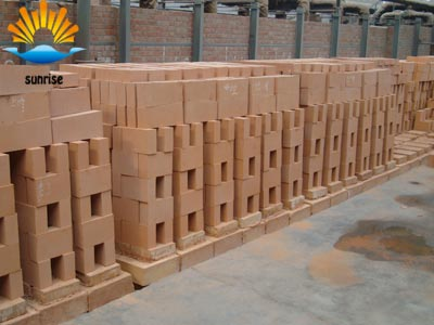 Fire clay insulation brick